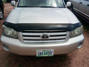 Toyota Highlander 2004 Silver   Cars for sale in Abuja (FCT) State, Asokoro