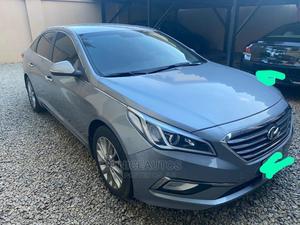 Hyundai Sonata 2017 Blue   Cars for sale in Abuja (FCT) State, Garki 1