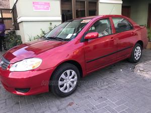 Toyota Corolla 2004 LE Red | Cars for sale in Lagos State, Shomolu