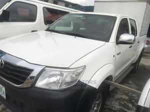 Toyota Hilux 2008 3.0 D-4d Double Cab White | Cars for sale in Lagos State, Ikeja