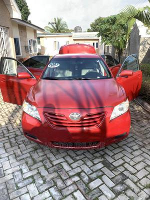 Toyota Camry 2007 Red | Cars for sale in Abuja (FCT) State, Gwarinpa