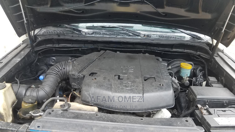 Archive: Toyota FJ Cruiser 2007 Base 4x4 Black