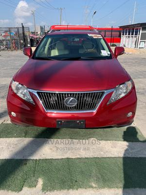 Lexus RX 2012 350 AWD Red   Cars for sale in Lagos State, Lekki