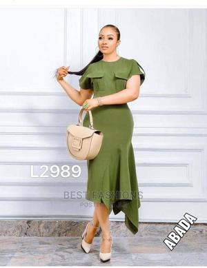 Army Green Ladies Long Dress | Clothing for sale in Lagos State, Ikeja