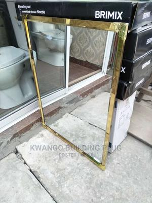 Quality Gold Framed Mirror   Home Accessories for sale in Lagos State, Orile