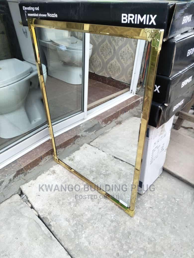 Quality Gold Framed Mirror