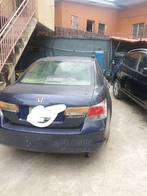 Honda Accord 2008 2.0 Comfort Automatic Blue   Cars for sale in Lagos State, Yaba