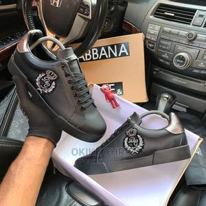 This Is Dolce and Gabbana Crown Patch Sneakers. | Shoes for sale in Lagos State, Lagos Island (Eko)