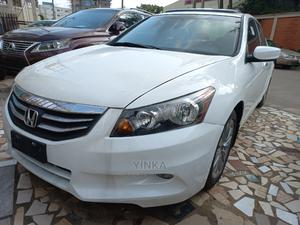 Honda Accord 2011 Sedan EX-L V-6 White   Cars for sale in Lagos State, Ikeja