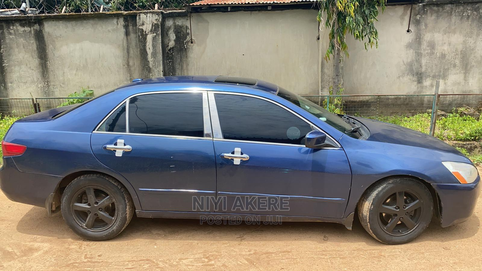Honda Accord 2005 Automatic Blue   Cars for sale in Minna, Niger State, Nigeria