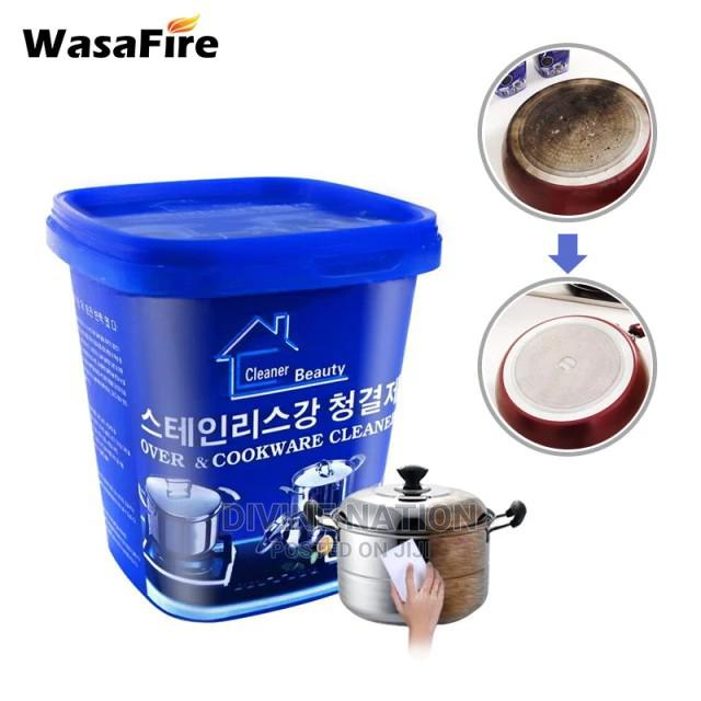Powerful Stainless Steel Cookware Cleaning Paste