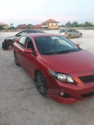 Toyota Corolla 2009 Red | Cars for sale in Lagos State, Ikeja