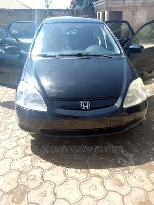 Honda Civic 2002 Black   Cars for sale in Ekiti State, Omuo