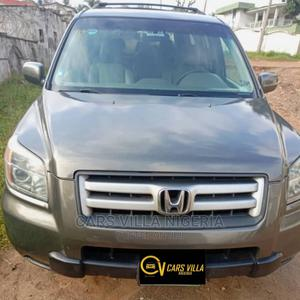 Honda Pilot 2007 EX-L 4x4 (3.5L 6cyl 5A) Brown | Cars for sale in Anambra State, Onitsha