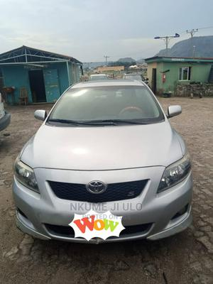 Toyota Corolla 2009 1.8 Advanced Silver | Cars for sale in Abuja (FCT) State, Jiwa