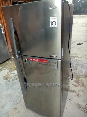 2 Months Used Inverter Linear Fridge/Freezer GL C292RLBN | Kitchen Appliances for sale in Lagos State, Yaba