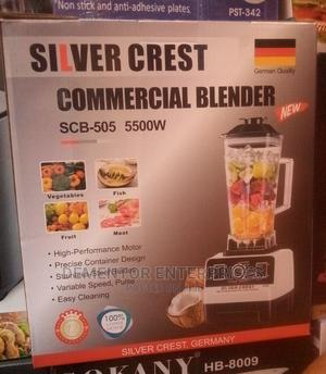 High Quality Blender Silver Crest 5500watts   Kitchen Appliances for sale in Lagos State, Lagos Island (Eko)