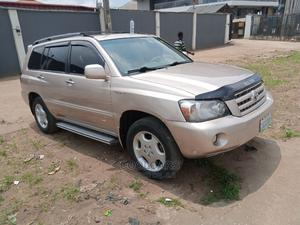Toyota Highlander 2005 V6 4x4 Gold | Cars for sale in Lagos State, Ikotun/Igando