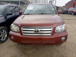 Toyota Highlander 2006 Limited V6 Red | Cars for sale in Lagos State, Ifako-Ijaiye