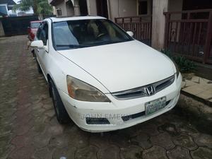 Honda Accord 2006 Sedan LX 3.0 V6 Automatic White   Cars for sale in Bayelsa State, Yenagoa
