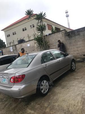 Toyota Corolla 2003 Sedan Automatic Silver | Cars for sale in Lagos State, Ojodu
