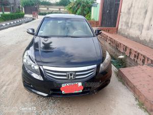 Honda Accord 2012 2.0 Sedan Automatic Black | Cars for sale in Lagos State, Ojo