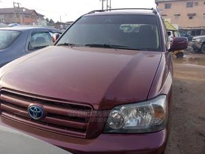 Toyota Highlander 2005 V6 Red | Cars for sale in Lagos State, Ikeja