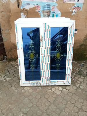 Double Glasing White Casement Window | Windows for sale in Lagos State, Agege