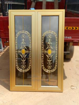 Double Glasing Gold Casement Window | Windows for sale in Lagos State, Agege