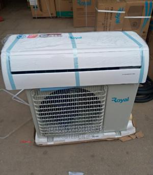 New Royal 1.5hp Split AC Fast Cooling With Installation Kit | Home Appliances for sale in Lagos State, Ojo