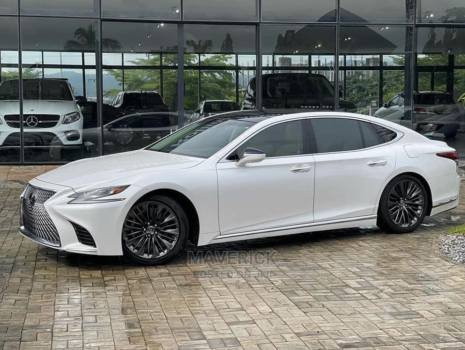 Lexus LS 2021 500 AWD White