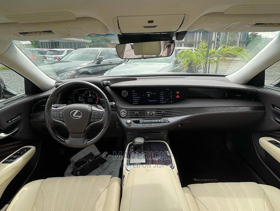 Lexus LS 2021 500 AWD White   Cars for sale in Gwarinpa, Abuja (FCT) State, Nigeria