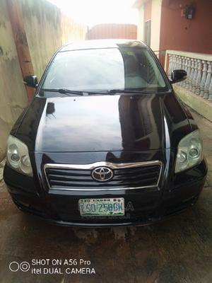 Toyota Avensis 2007 2.0 Advanced Black   Cars for sale in Oyo State, Egbeda