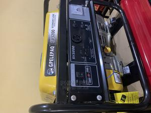 Manual Start Generator SV3200 GP Elepaq Portable Generator | Electrical Equipment for sale in Abuja (FCT) State, Wuse 2
