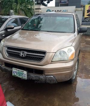 Honda Pilot 2003 Gold | Cars for sale in Lagos State, Ikorodu