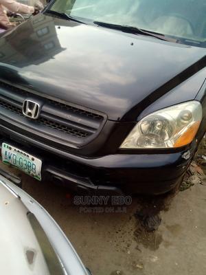 Honda Pilot 2004 EX 4x4 (3.5L 6cyl 5A) Black | Cars for sale in Lagos State, Ikeja