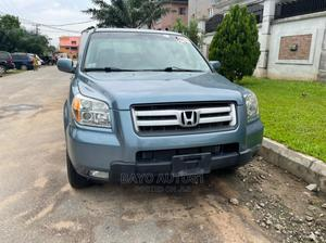 Honda Pilot 2008 EX-L 4x4 (3.5L 6cyl 5A) Blue | Cars for sale in Lagos State, Ikeja