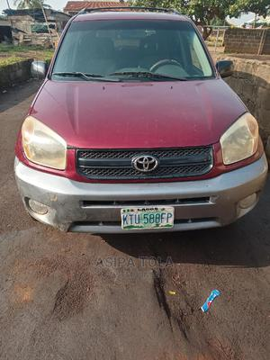 Toyota RAV4 2004 Automatic Red | Cars for sale in Ogun State, Abeokuta South