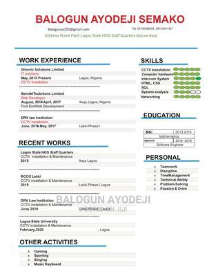 Computing IT CV | Computing & IT CVs for sale in Lagos State, Ikeja