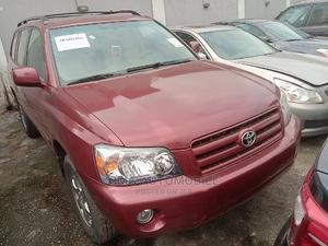 Toyota Highlander 2006 Red | Cars for sale in Lagos State, Ikeja