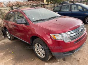 Ford Edge 2008 SE 4dr FWD (3.5L 6cyl 6A) Red | Cars for sale in Lagos State, Abule Egba