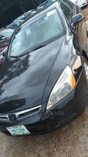 Honda Accord 2007 2.4 Black | Cars for sale in Abuja (FCT) State, Gudu