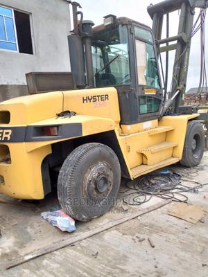 Almost New 12.5 Tons Hyster Forklift   Heavy Equipment for sale in Lagos State, Ilupeju