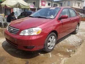 Toyota Corolla 2003 Sedan Automatic Red | Cars for sale in Lagos State, Magodo