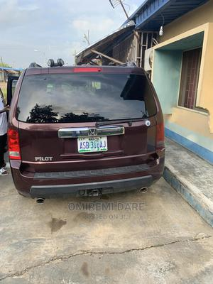 Honda Pilot 2011 EX 4dr SUV (3.5L 6cyl 5A) Burgandy | Cars for sale in Lagos State, Ikeja