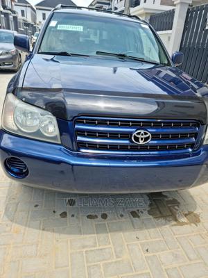 Toyota Highlander 2003 Blue   Cars for sale in Lagos State, Lekki