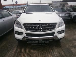 Mercedes-Benz M Class 2013 ML 350 4Matic White   Cars for sale in Lagos State, Ikeja