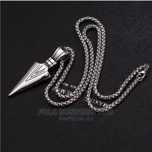Silver Arrow Pendant Chain   Jewelry for sale in Lagos State, Ikeja