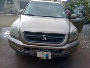 Honda Pilot 2004 LX 4x4 (3.5L 6cyl 5A) Brown | Cars for sale in Lagos State, Alimosho
