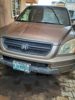 Honda Pilot 2006 EX 4x4 (3.5L 6cyl 5A) Gold | Cars for sale in Lagos State, Surulere